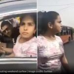 "Delhi | Police ने Mask के लिए बोला तो महिला बोली- ""मैं तो अभी किस कर लूंगी'"
